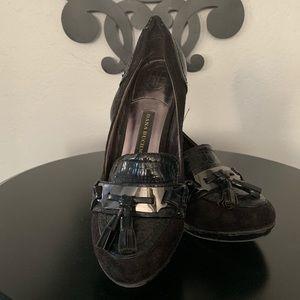 Dana Bachman school girl style heels